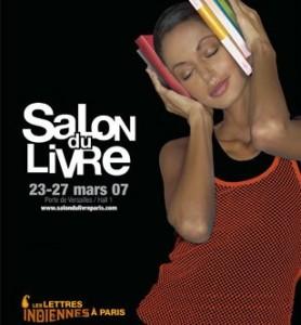 Affiche du Salon du livre de Paris 2007