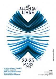Affiche du Salon du livre de Paris 2013