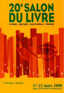Affiche du Salon du livre de Paris 2000