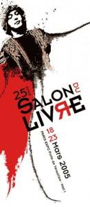 Affiche du Salon du livre de Paris 2005