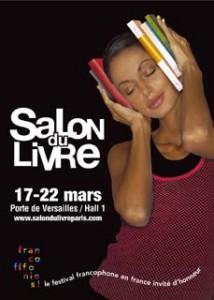 Affiche du Salon du livre de Paris 2006