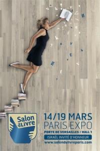 Affiche du Salon du livre de Paris 2008