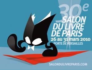 Affiche du Salon du livre de Paris 2010