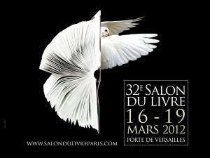 Affiche du Salon du livre de Paris 2012
