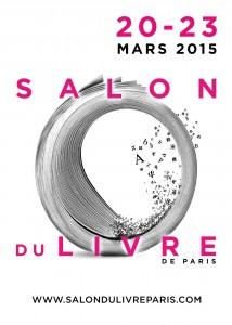Affiche du Salon du livre de Paris 2015