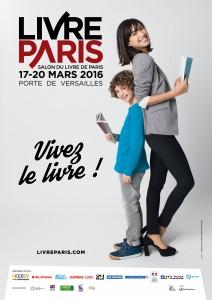 Affiche du Salon du livre de Paris 2016