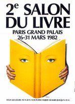 Affiche du Salon du livre de Paris 1982
