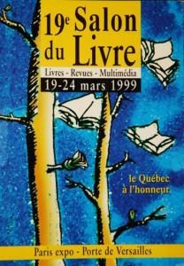 Affiche du Salon du livre de Paris 1999