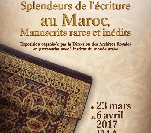 Affiche-manuscrits-maroc-IMA