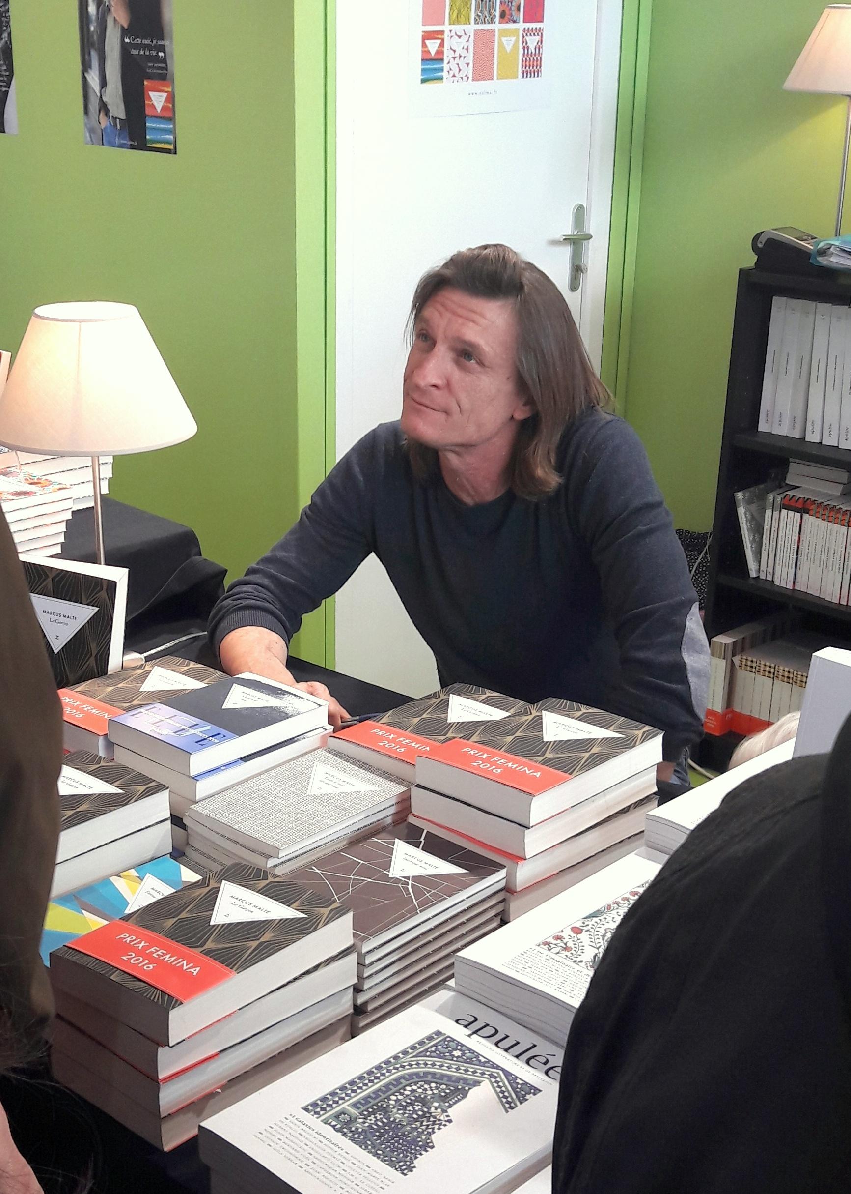 Livre Paris Marcus Malte