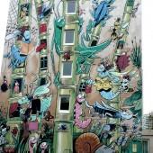 Le Jardin extraordinaire de Florence Cestac (2001, Rue Pierre Sémard)