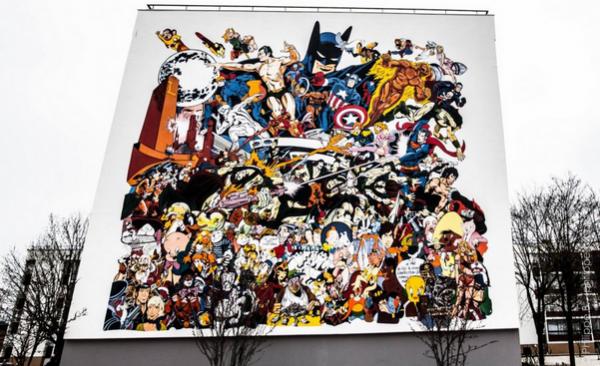 Fresque murale d'Ero