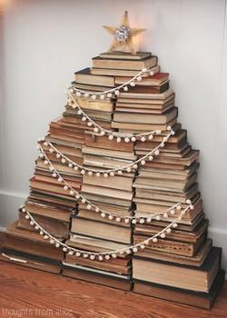 Sapin en livres