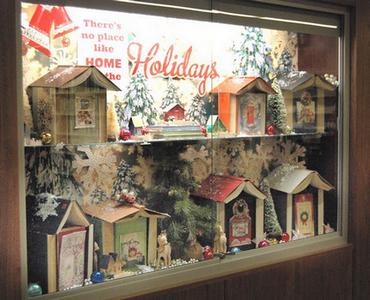 Village de Noël en livres