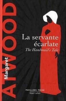La servante écarlate de Margaret Atwood - Couverture française
