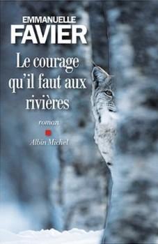 Le courage qu'il faut aux rivières d'Emmanuelle Favier - Couverture