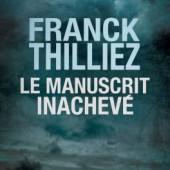 Le manuscrit inachevé de Thilliez - Couverture