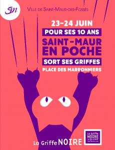 Poster Saint Maur en poche 2018