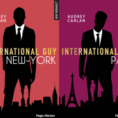 Les 2 premiers tomes d'International Guy qui viennent de sortir