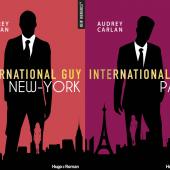 Les 2 premiers tomes d'International Guy qui viennent de sortir