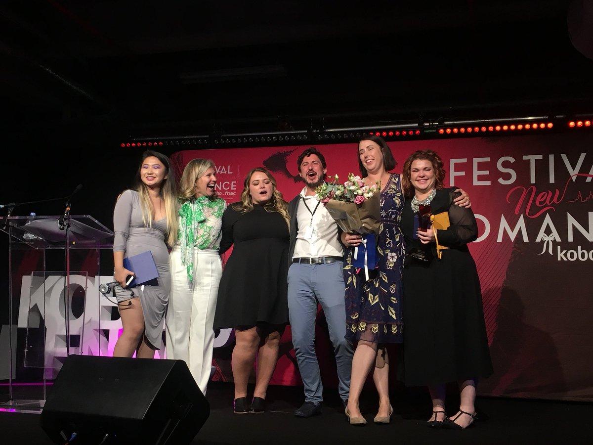 Les Cristina Lauren Meilleur auteur étranger aux New Romance Awards 2018