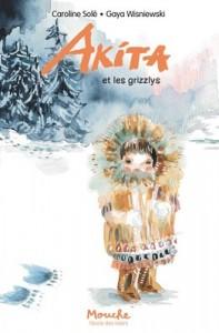 Akita et les grizzlys Couverture
