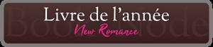 Livre de l'année New Romance