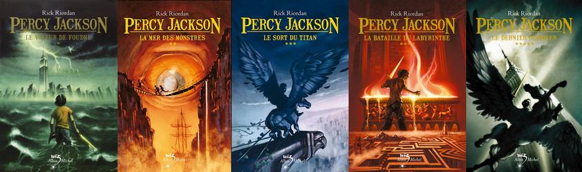 Percy Jackson, les 5 livres de la série